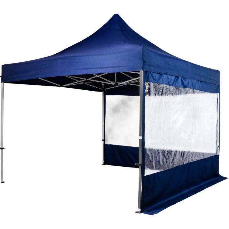 Ogrodowy namiot party INSTENT - nożycowy 3 x 3 m + 2 ściany
