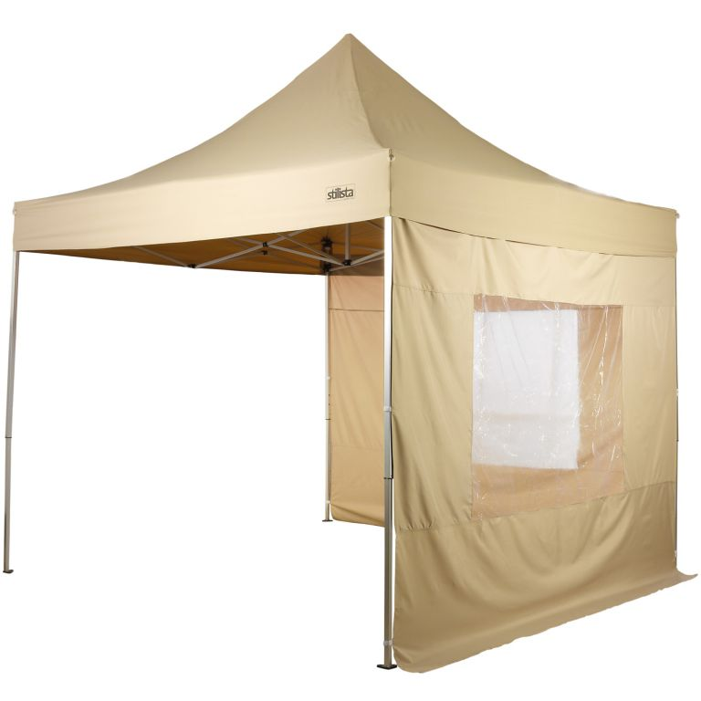 Namiot ogrodowy - nożycowy Stylista 3x3 m + 2 strony - kolor szampan