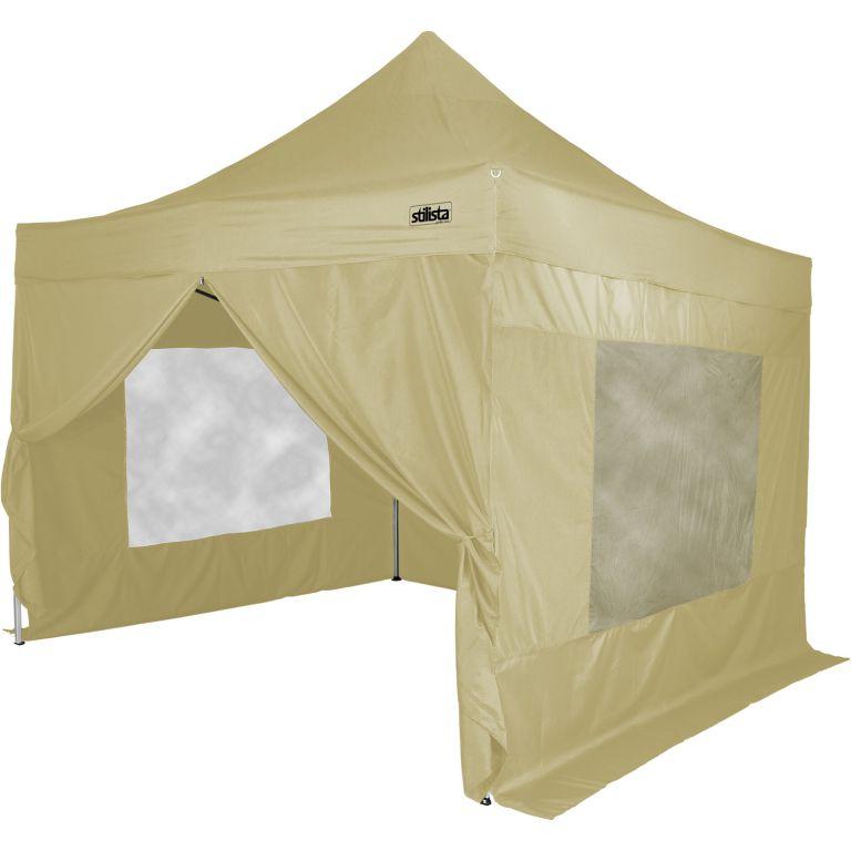 Namiot ogrodowy Stilista + 4 ściany boczne - kolor szampan