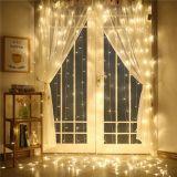 Świąteczna kurtyna świetlna - 3x3 m, 300 LED, ciepła biel