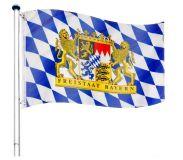 Maszt wraz z flaga Bayern - 650 cm