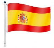 Maszt wraz z flagą: Hiszpania - 650 cm