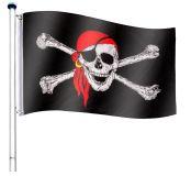 Maszt wraz z piracką flagą - 650 cm