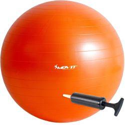 Piłka gimnastyczna MOVIT 65 cm pomarańczowa