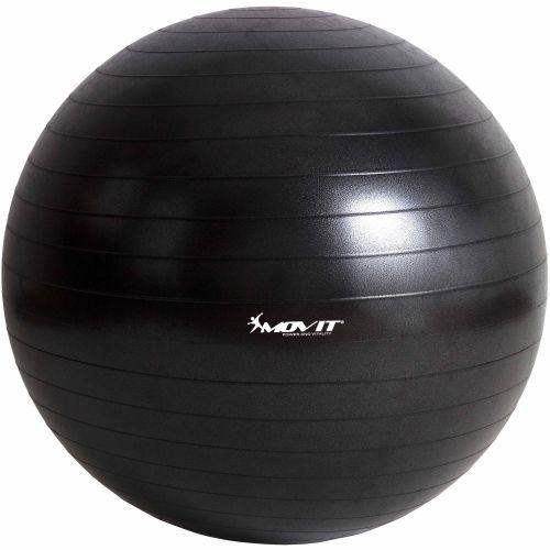 Piłka gimnastyczna MOVIT 75 cm czarna