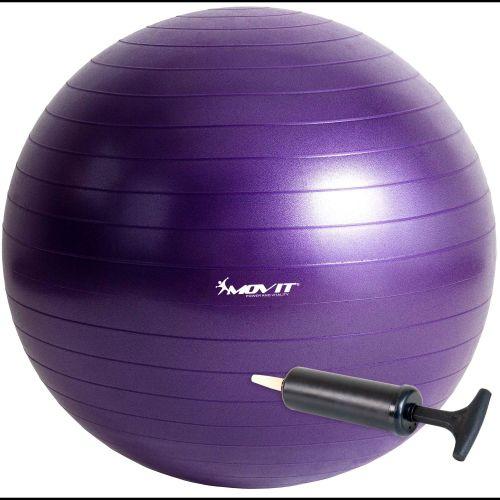 Piłka gimnastyczna MOVIT 75 cm fioletowa