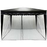 Moskitiera do namiotu ogrodowego INSTENT 3 x 3 m - czarny