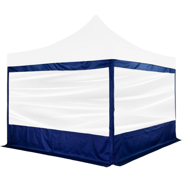 """Ściana boczna na namiot imprezowy INSTENT """"PRO"""" - niebieski"""