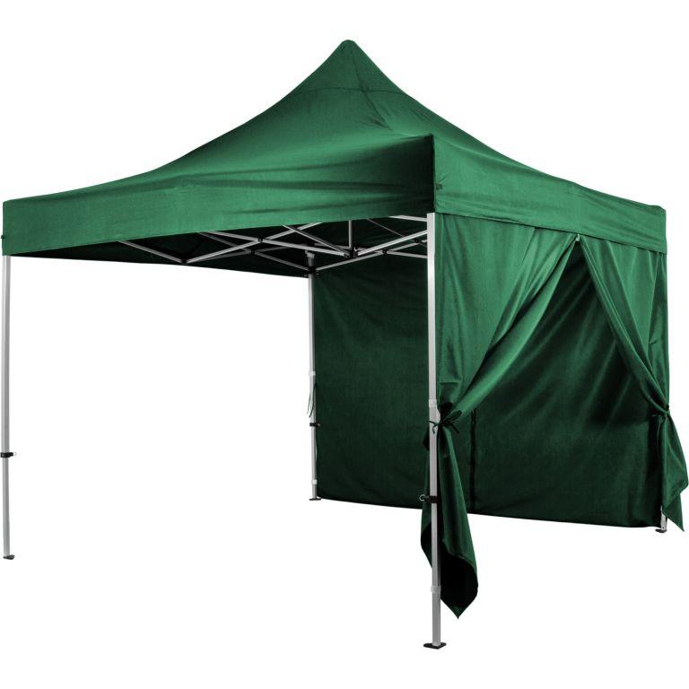"""Ściana boczna na namiot ogrodowy INSTENT """"PRO"""" - zielony"""
