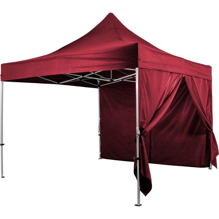 """Ściana boczna na namiot INSTENT """"PRO"""" - bordowy"""