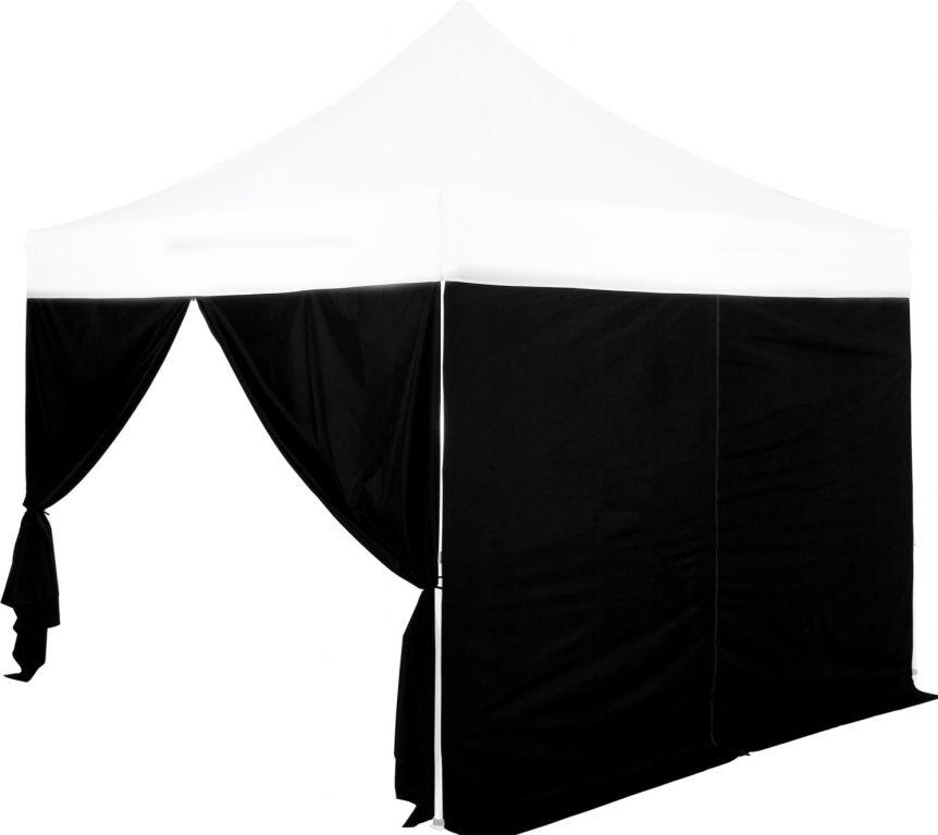 """Ściana boczna do namiotu imprezowego INSTENT """"PRO"""" - czarny"""