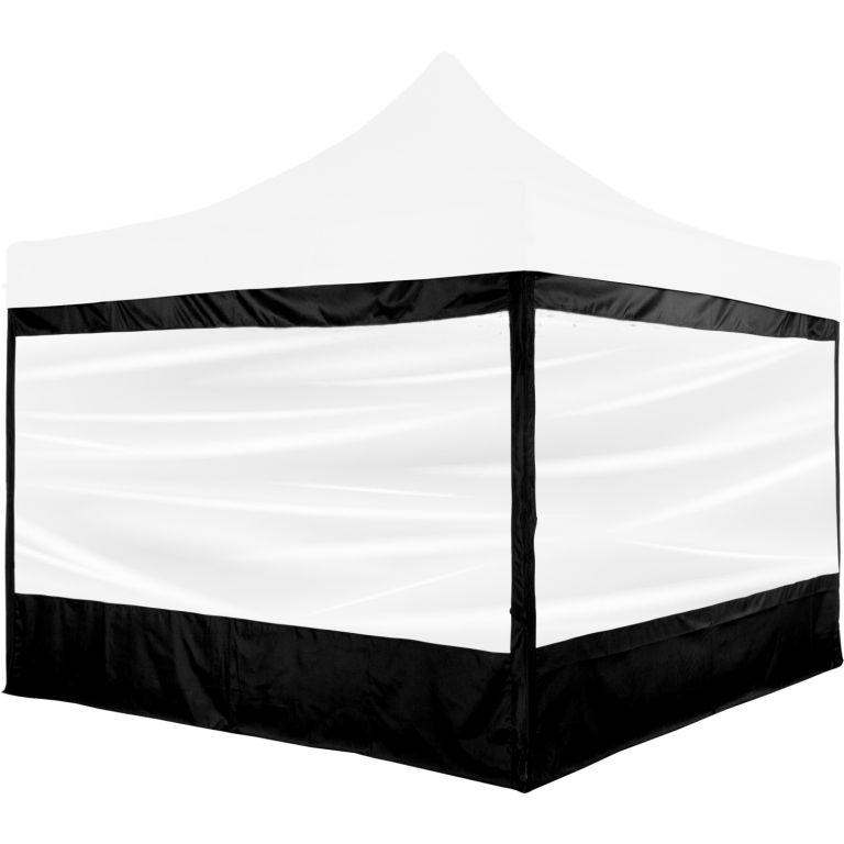 INSTENT PRO Panel boczny z okienkiem, czarny