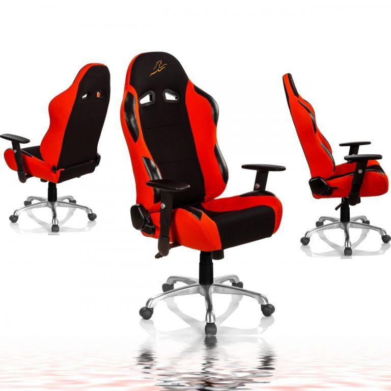 """Krzesło RACEMASTER """"RS Series"""", pomarańczowy"""