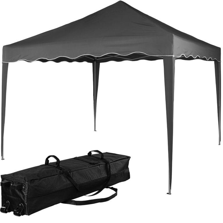 Namiot ogrodowy INSTENT BASIC - 3 x 3 m, antracyt