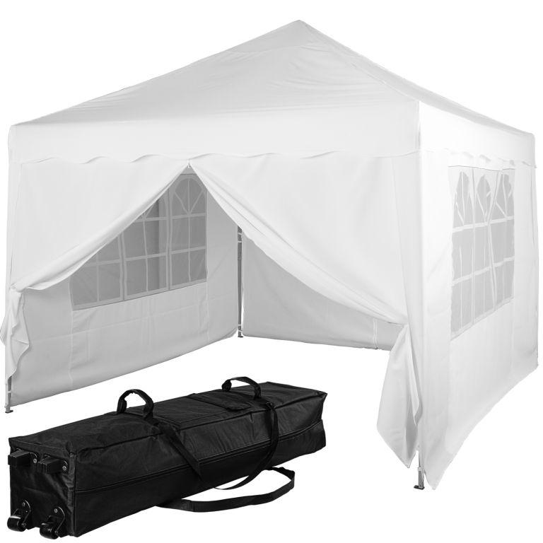 Instent Namiot ogrodowy - 3 x 3 m, biały + 4 boki
