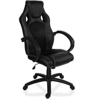 Fotel biurowy obrotowy MX Racer czarny