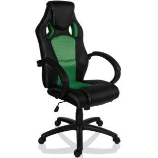 Fotel biurowy GS Series do biura zielony