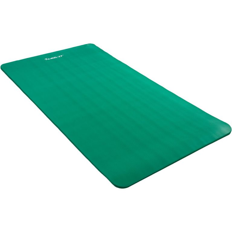 Mata piankowa MOVIT do jogi i gimnastyki 190 x 100 x 1,5 zielona