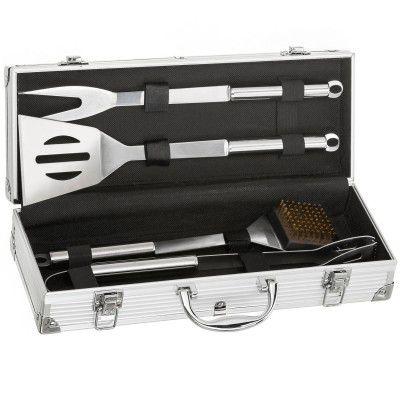 Profesjonalne narzędzia grillowe ze stali nierdzewnej