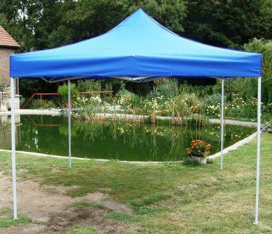 Namiot ogrodowy CLASSIC nożycowy 3 x 3 m - niebieski