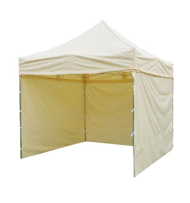 Namiot ogrodowy PROFI STEEL 3 x 3  - Kremowy