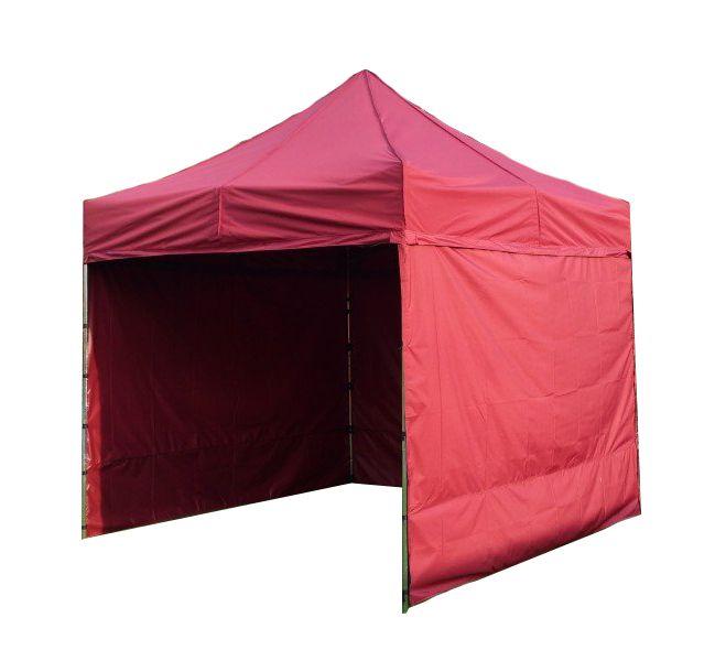 Namiot ogrodowy PROFI STEEL 3 x 3 - bordowy
