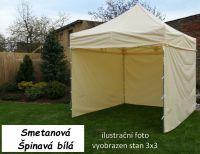 Namiot ogrodowy PROFI STEEL 3 x 4,5 - kremowy