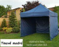 Namiot ogrodowy PROFI STEEL 3 x 4,5 - ciemnoniebieski