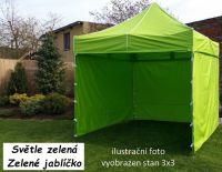 Ogrodowy namiot PROFI STEEL 3 x 4,5 - jasnozielony