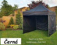 Namiot ogrodowy PROFI STEEL 3 x 4,5 - czarny