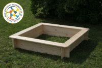 Kwadratowa piaskownica T-wood