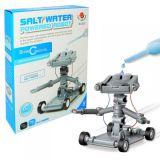 Wodny robot zasilany solą