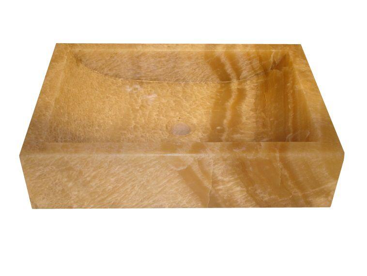 Umywalka z naturalnego kamienia Ornatus 308 Onyks