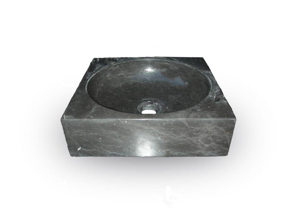 Kamienna umywalka Handwash Black