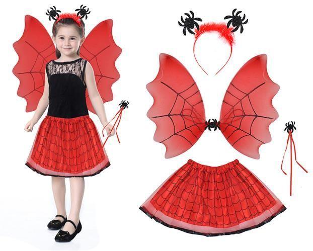 Kostium wróżki - czerwony