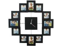 Zegar ścienny z ramkami do zdjęć