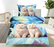Pościel na pościel 3D CATS
