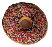 Poduszka Donut 3D - kolorowa