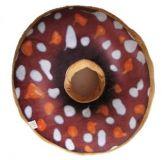 Poduszka pączek 3D - brązowy