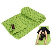 Antypoślizgowy ręcznik do jogi