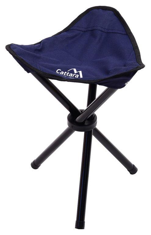 Składane krzesło kempingowe OSLO - niebieskie