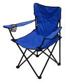 Campingowe krzesło składane BARI - niebieskie
