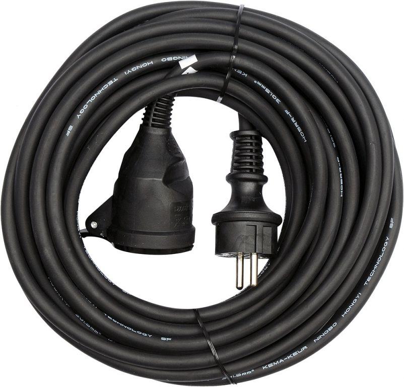 Przedłużacz elektryczny z gumową izolacją 16A - 20 m