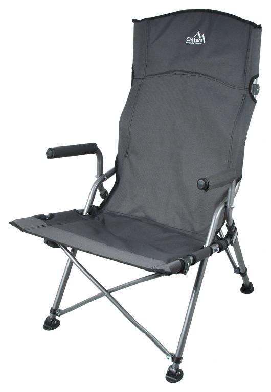 Składane krzesło kempingowe MERIT XXL - 111 cm