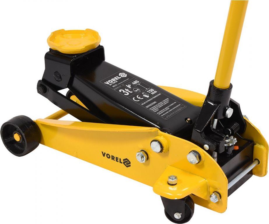 Hydrauliczny podnośnik mobilny 3T, 150 - 485 mm