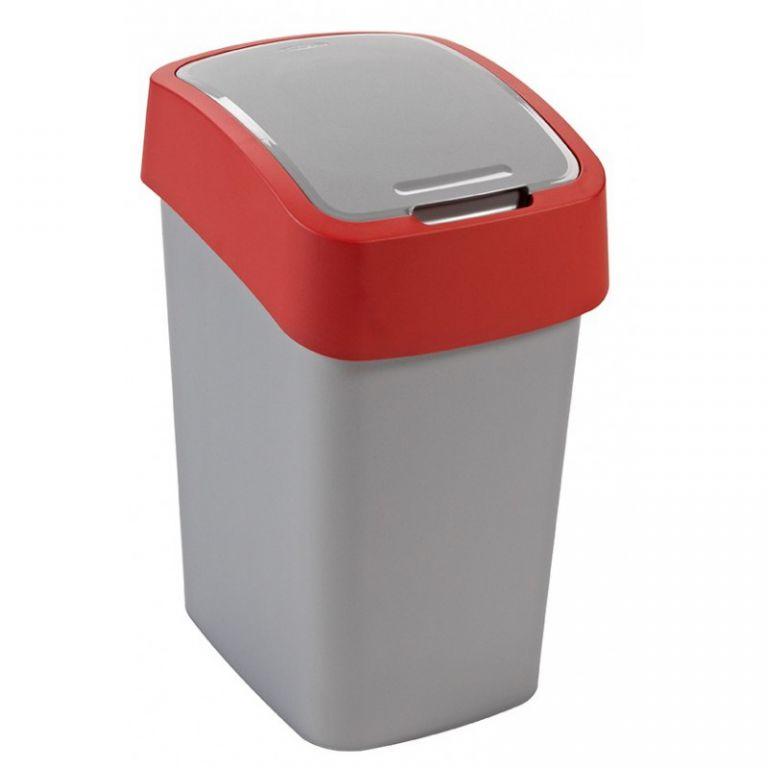 Kosz na śmieci FLIPBIN 25l - czerwony CURVER