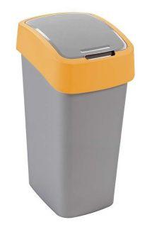 Kosz na śmieci FLIPBIN 50l - żółta CURVER