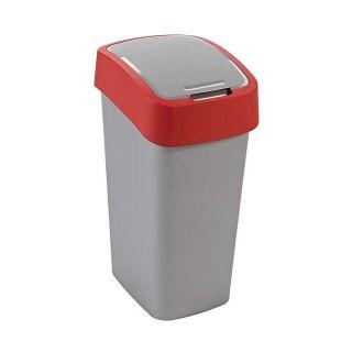 Kosz na śmieci FLIPBIN 50l - czerwony CURVER