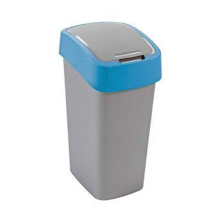 Kosz na śmieci FLIPBIN 50l - niebieski CURVER