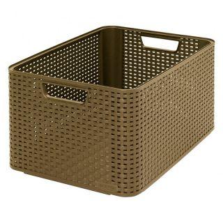 Plastikowe pudełko do przechowywania STYLE BOX -L- CURVER